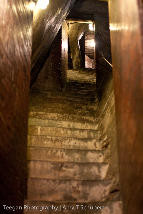 stairs to the top of the Duomo in Florence