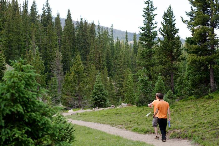 Rocky Mountain National Park hiking lake irene